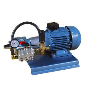 Moto-pompe cat 350-15-150 2,2 kw 1.000 t/mn sur châssis