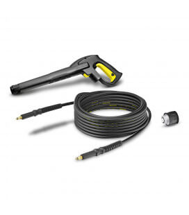 Poignee + flexible karcher quick coupling