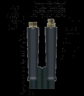 Flexible haute pression dn8 fixation 3/8m - 3/8f