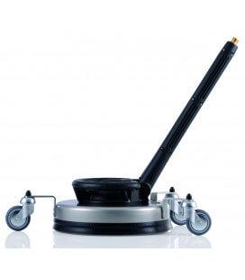 Round Cleaner UFO inox 045 avec rallonge 500mm et roues