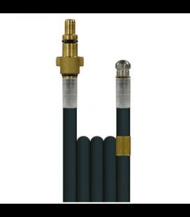 Débouche canalisation: flexible + buse haute pression KEW et Alto