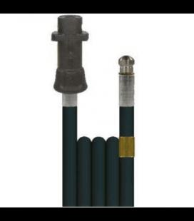 Débouche canalisation: flexible 7,5m + buse haute pression Karcher