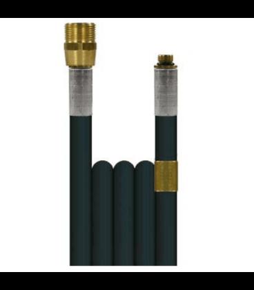 Flexible canalisation 200 bar fixation m22m - 1/8m
