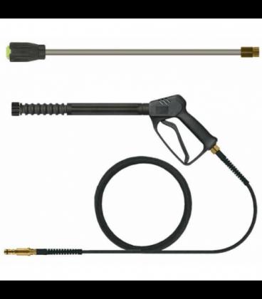 Pack karcher quick-coupling turbo : lance turbo + poignee + flexible