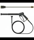 Pack karcher turbo : lance turbo + poignee + flexible
