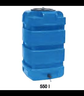 Cuve de stockage d'eau en polyéthylène RS 550 litres