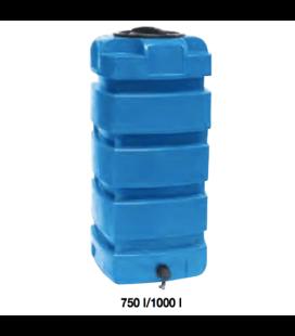 Cuve de stockage d'eau en polyéthylène RS 750 litres