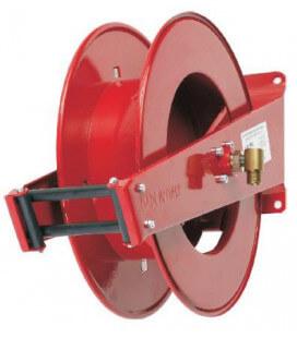 Enrouleur automatique 20m acier pour flexible d1/2