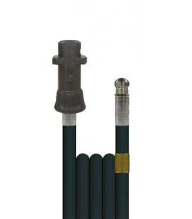 Débouche canalisation: flexible 20m + buse haute pression Karcher