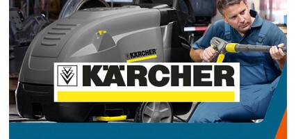 Nettoyeur haute pression eau chaude Karcher