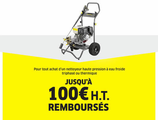 100€ REMBOURSE